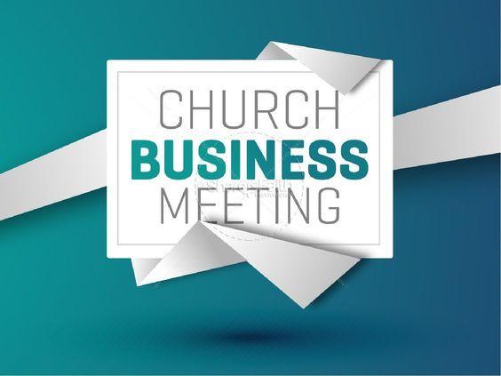 Third Quarter Business Meeting