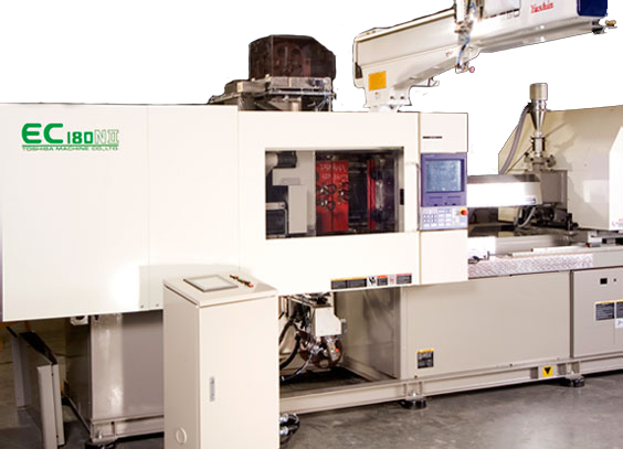 Injection Machine for In-Mold Ink Transfer