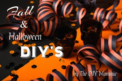 Fall & Halloween DIY's