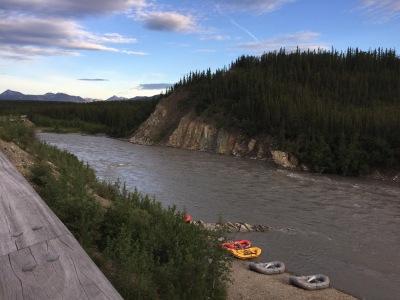 Rafting In Denali