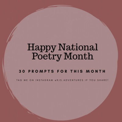 30 Posts for National Poetry Month