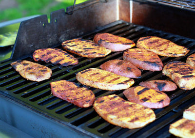 Smokey Grilled Sweet Potatoes