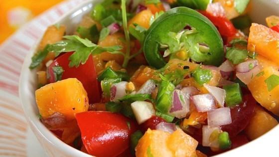 Easy Cantaloupe Salsa