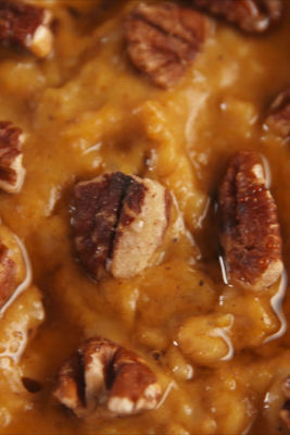 Pumpkin Spice Slow-Cooker Oatmeal