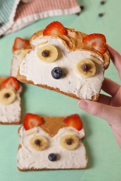 Peanut Fox Toast