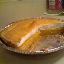 Cantaloupe Pie