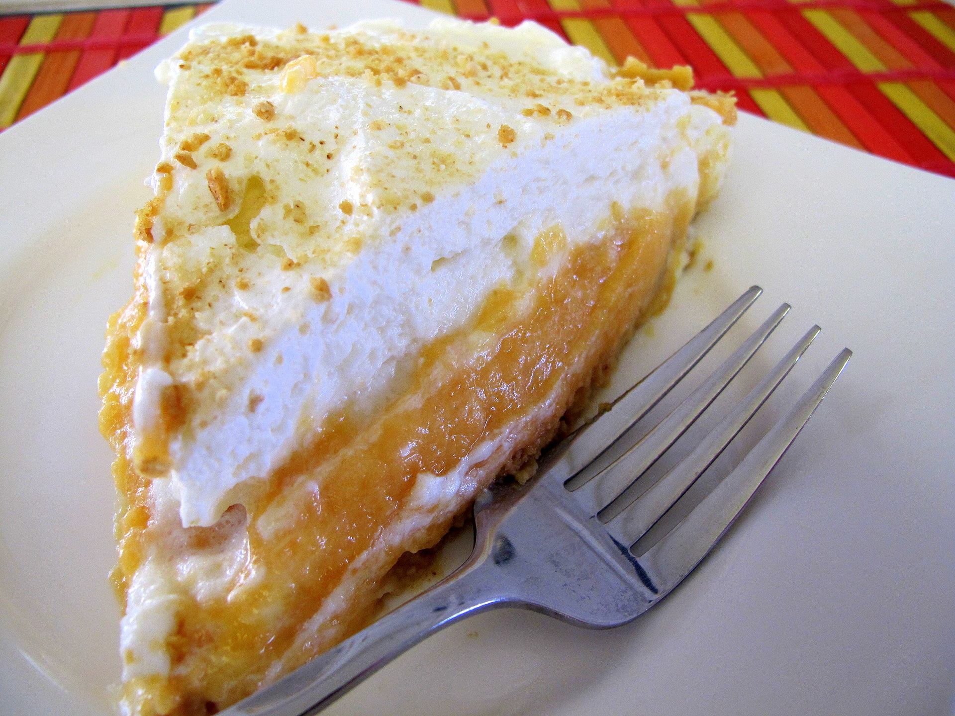 Cantaloupe Pie / That sounds weird and kinda gross.