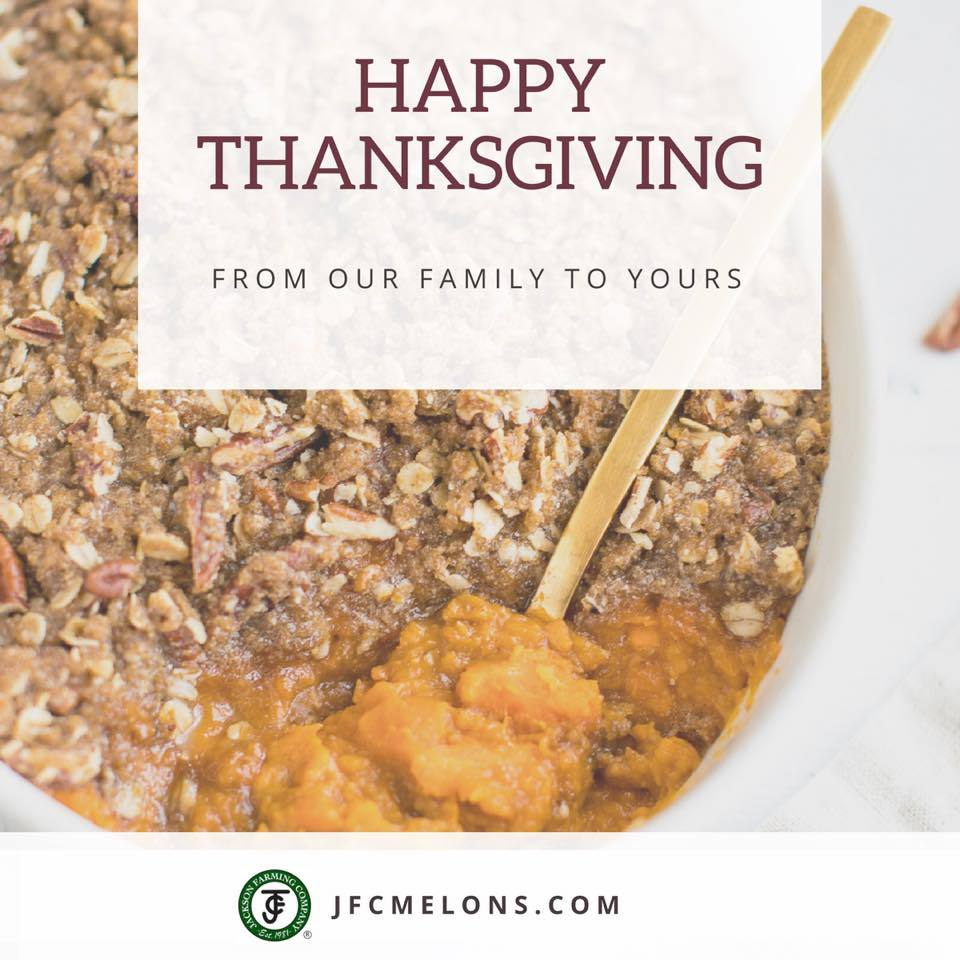 Happy Thanksgiving from JFC!