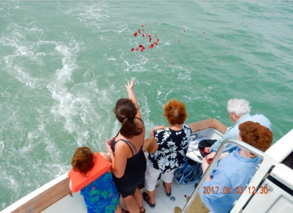 """DAS Family """"Attended"""" Memorial Cruise"""