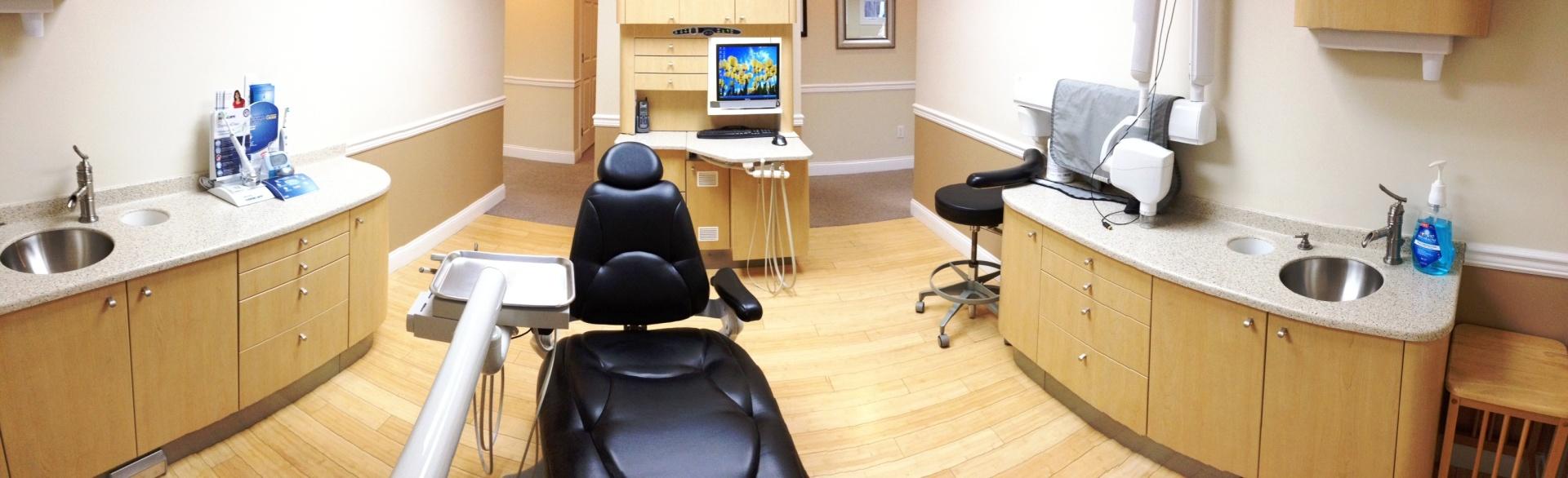 Spacious, patient-focused dental suites