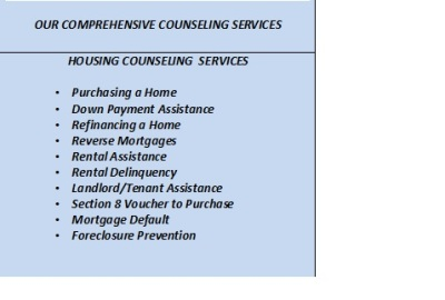 OUR HOUSING COUNSELING PROGRAM
