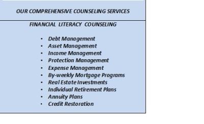 OUR FINANCIAL LITERACY PROGRAM