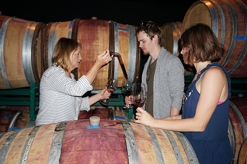 Couple's Private Wine Tour Barrel Tasting with the Winemaker.