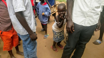 South Sudanese Refugees Wait