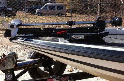 Adding a lift-assist for your heavy trolling motor.