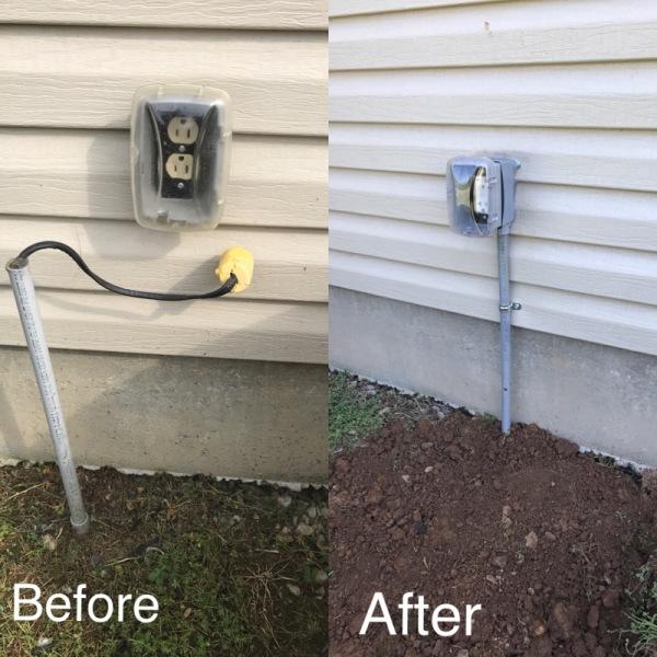Weatherproof Outlet