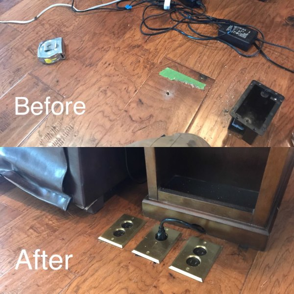 Floor Outlets