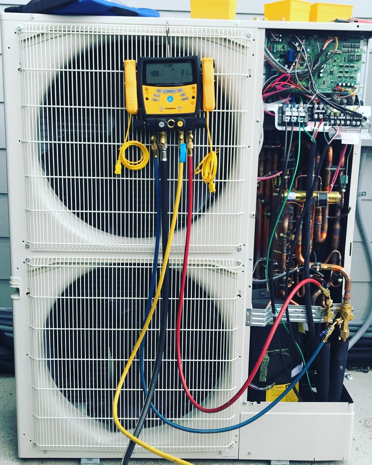 Kirkpatrick Homes - American Standard HVAC unit