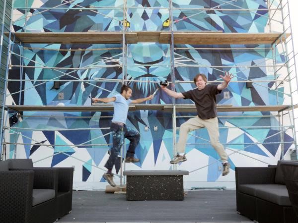 Mural Leap