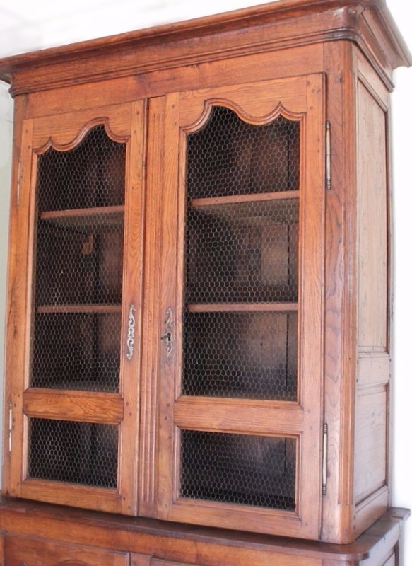 Restored French Hutch - repaired after it fell out of truck