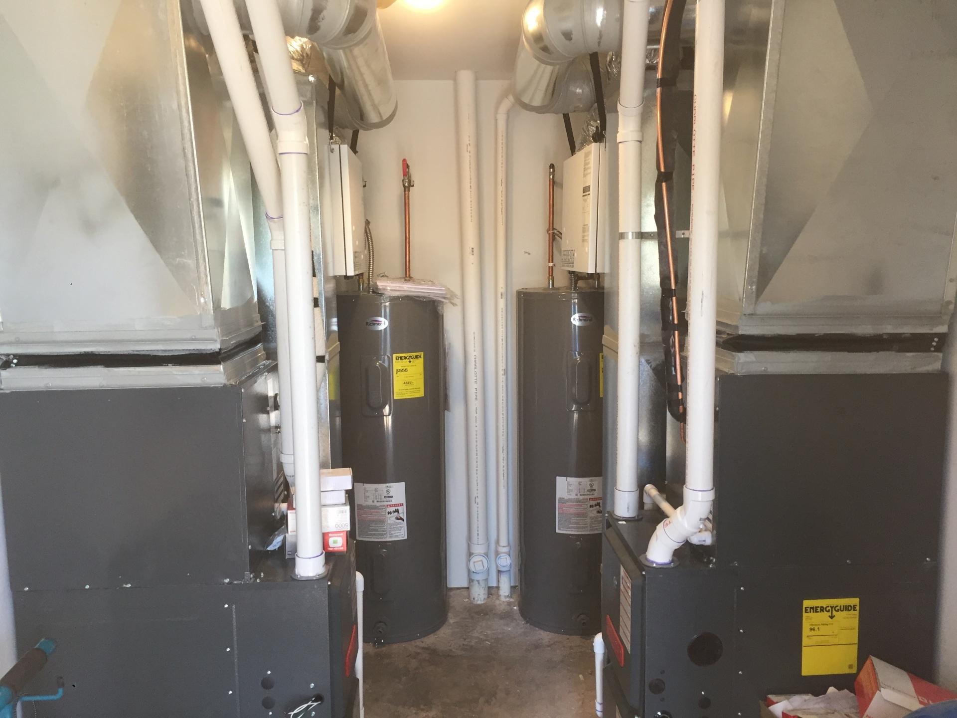 Mechanical room in Homecroft area
