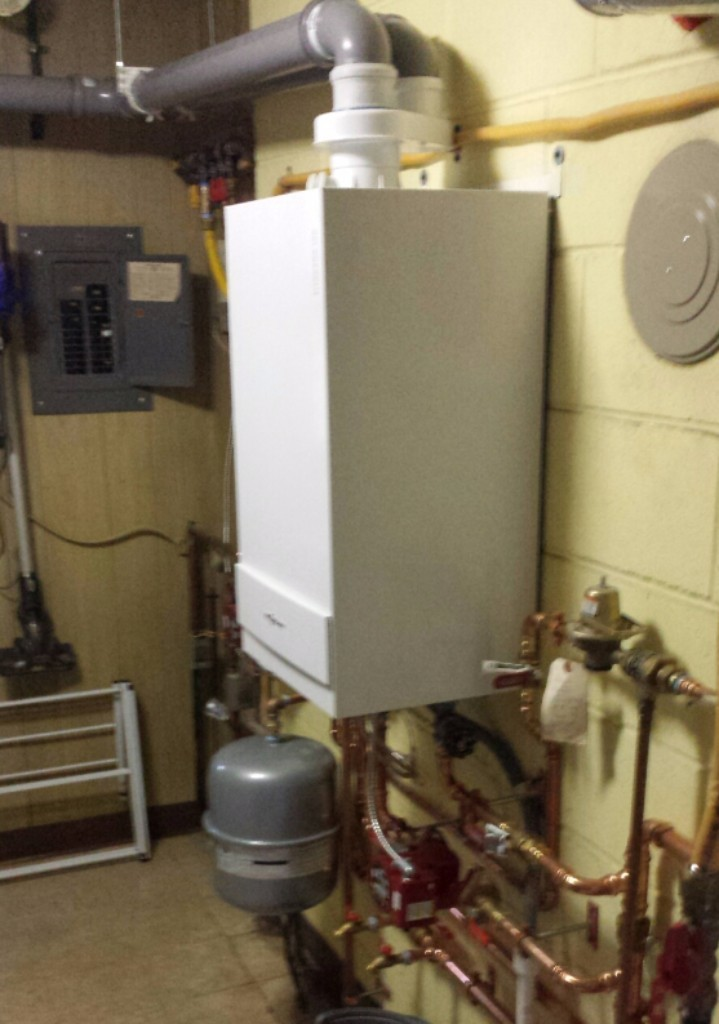 High Efficiency Viessmann replacement for a Fuel Oil Boiler