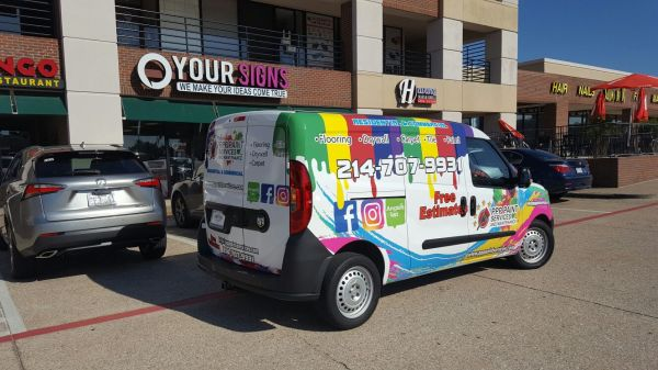 PPP Painting Services Vehicle Wrap
