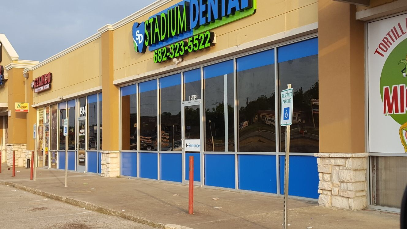 Stadium Dental Channel Letters