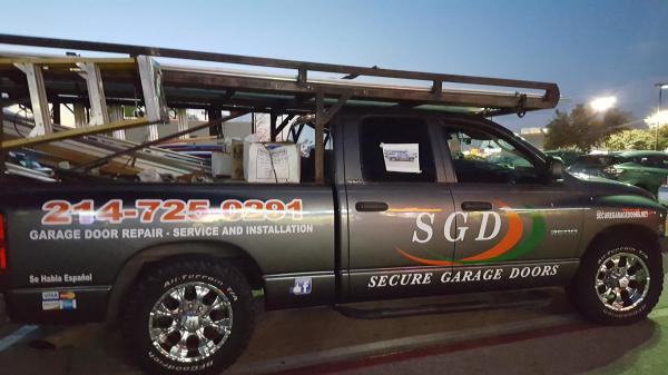 SGD Full Color Decals Installation