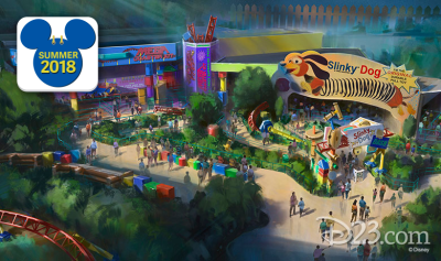 Hollywood Studios in WDW expands this Summer to welcome Toy Story Land