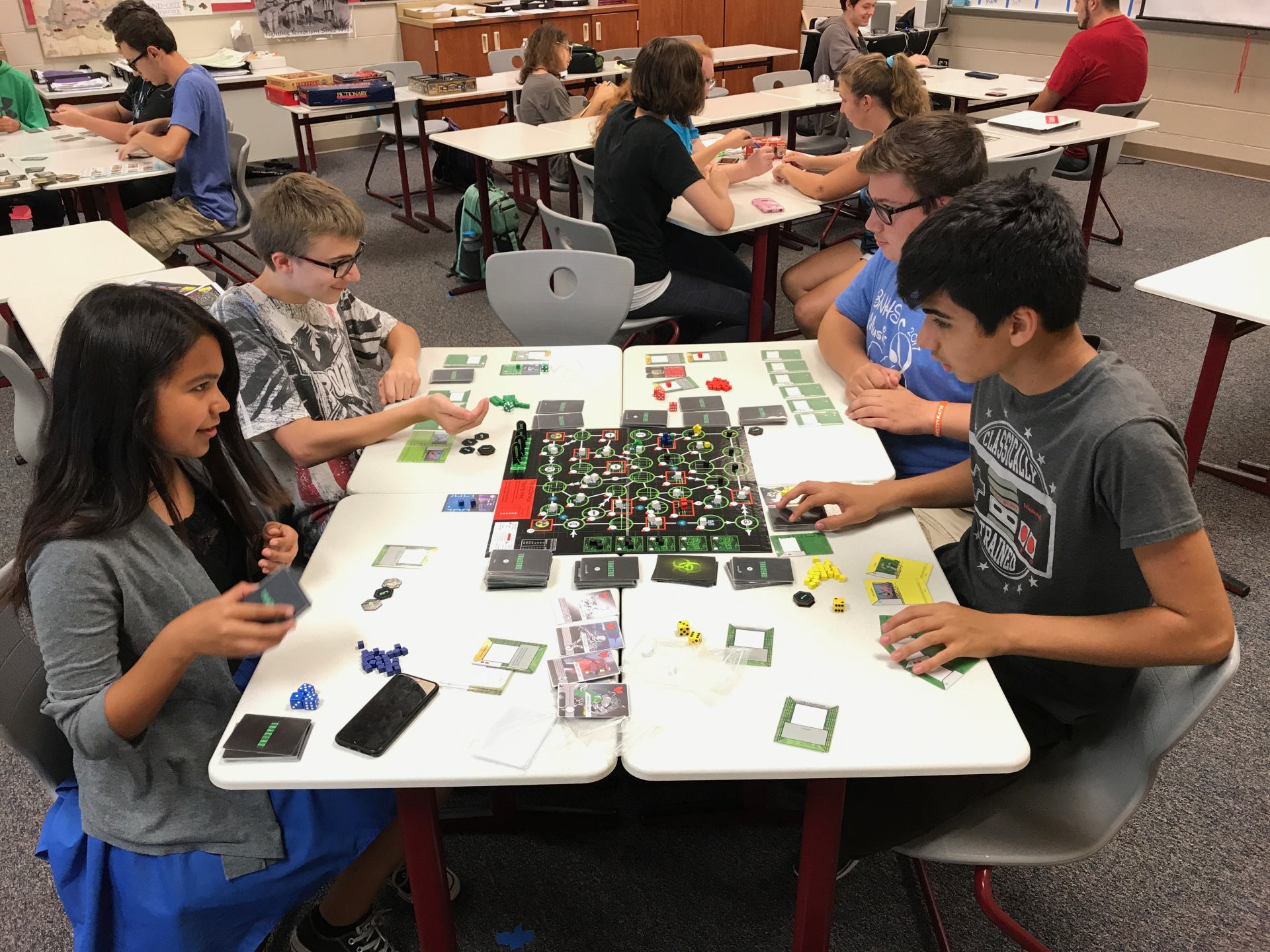 Students at Belvidere North High School Play Tracers