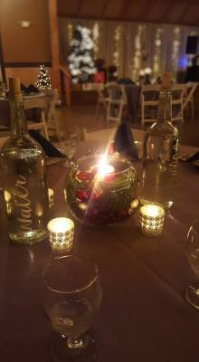 Rustic Holiday Party Venue in Canby, OR
