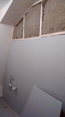 how to put up plasterboard