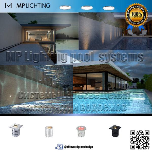 Lighting fixtures for pools