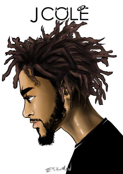 J Cole (Digital fanart)