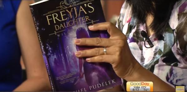 Freyja's Daughter on Good Day Sacramento's Book Club!