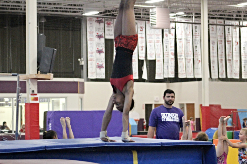 GIRLS HIGH SCHOOL GYMNASTICS