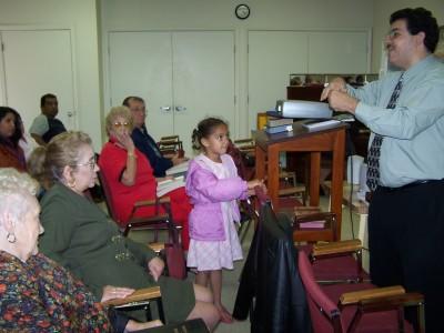 Predicando en Belleview