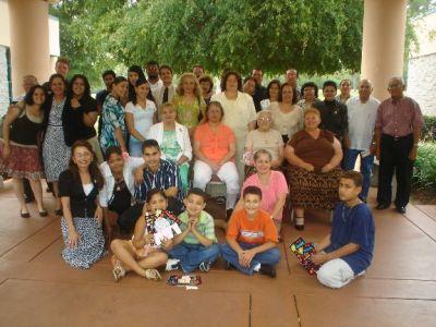 Dia de las Madres en el Centro Comunal despues que ganamos la demanda