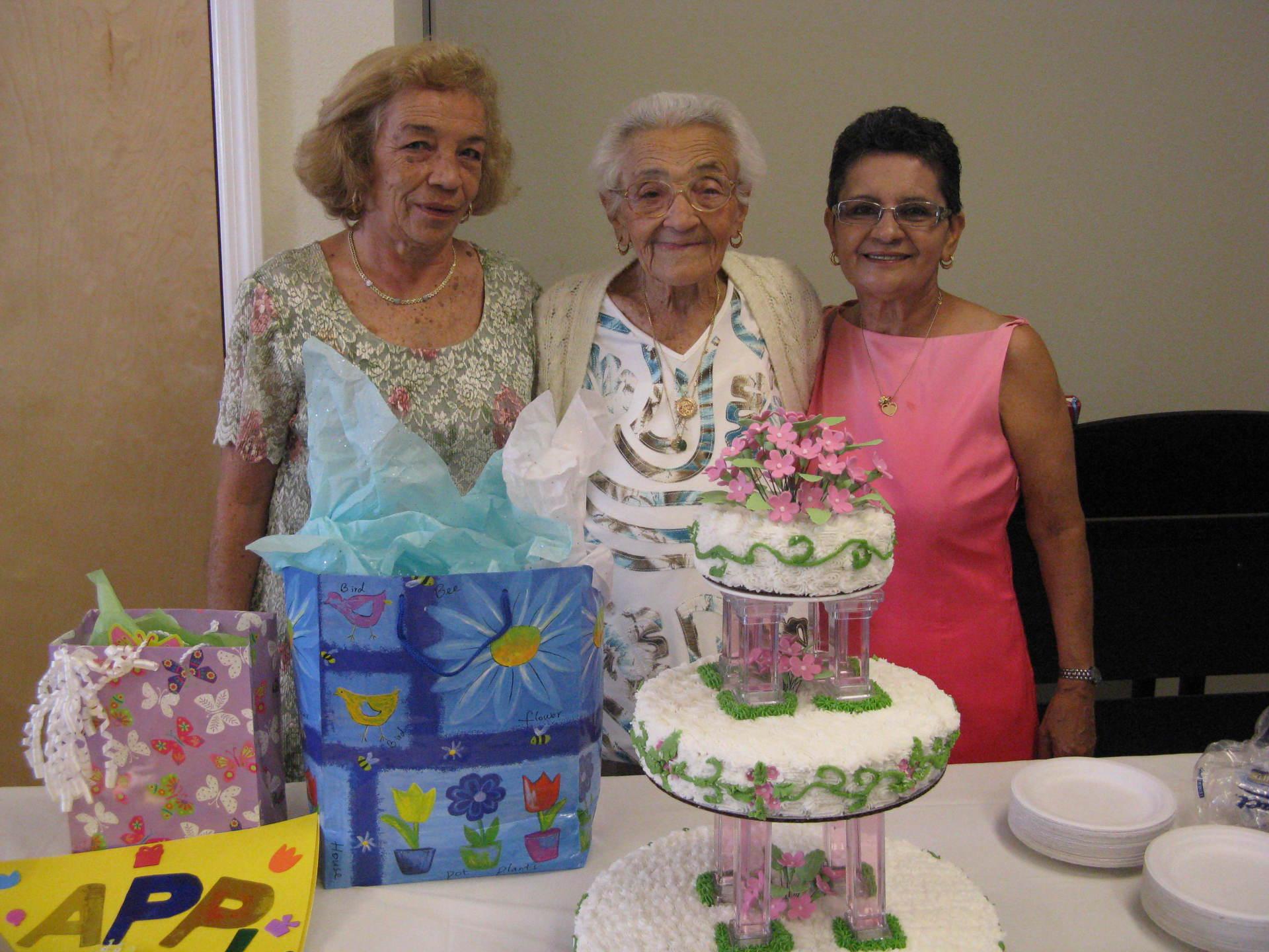 Cumpleaños de la Abuela Luisa