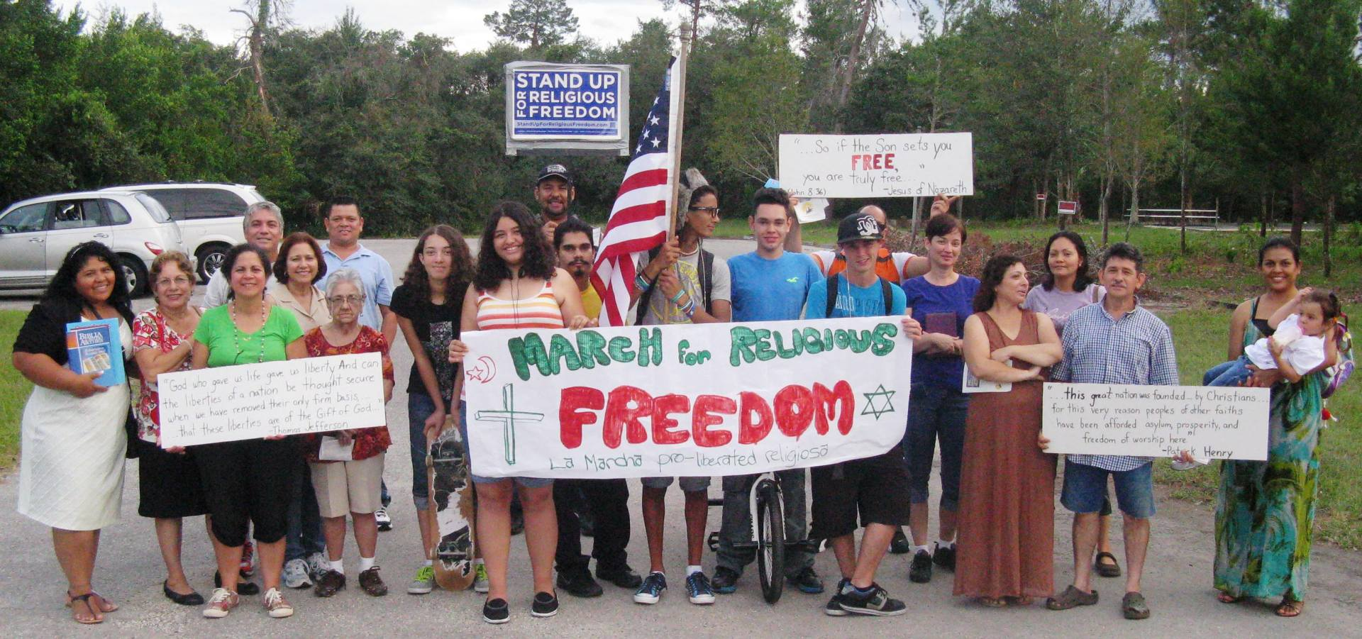 Marcha por la Libertad Religiosa