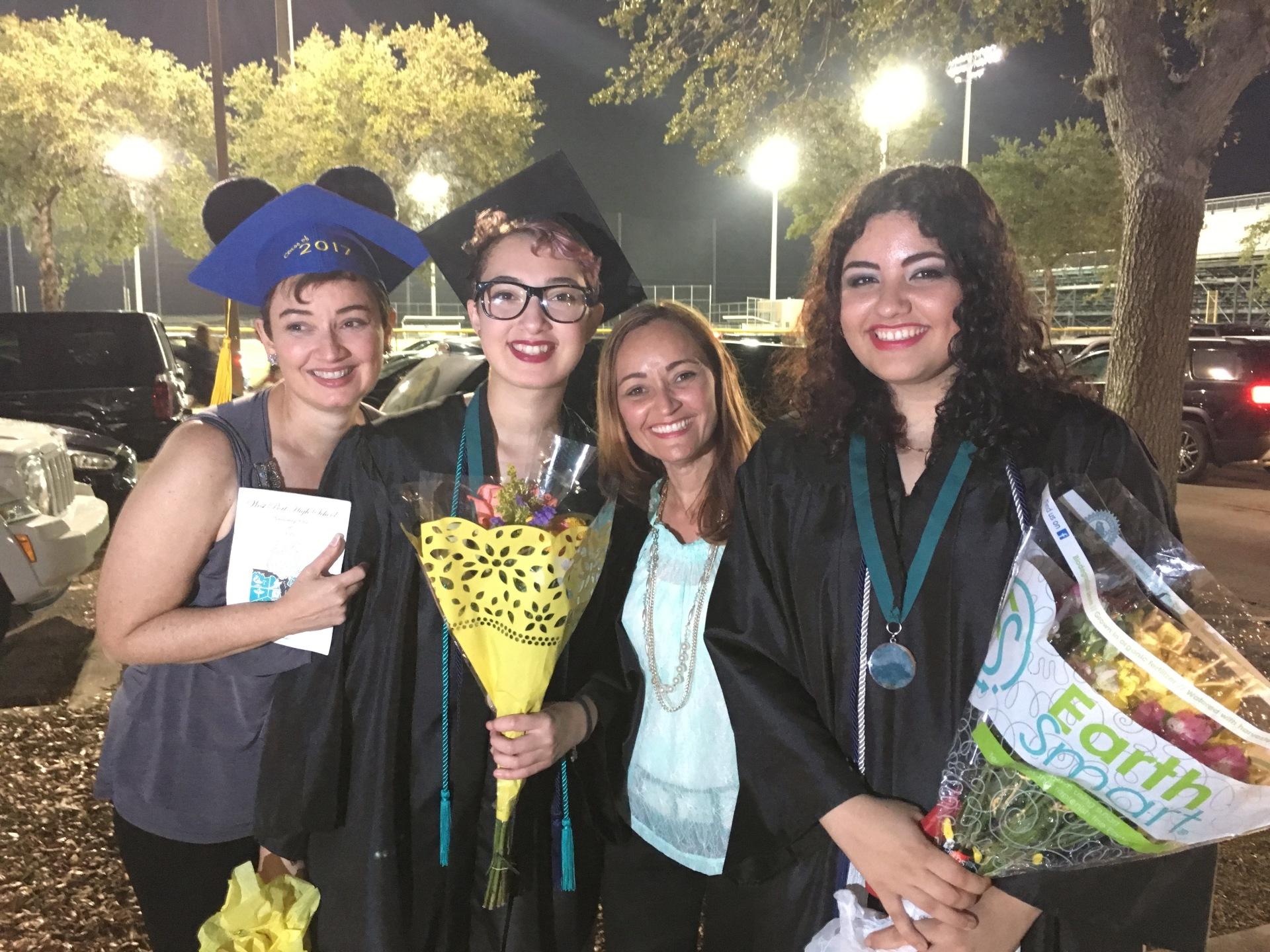 Graduación de Yainid