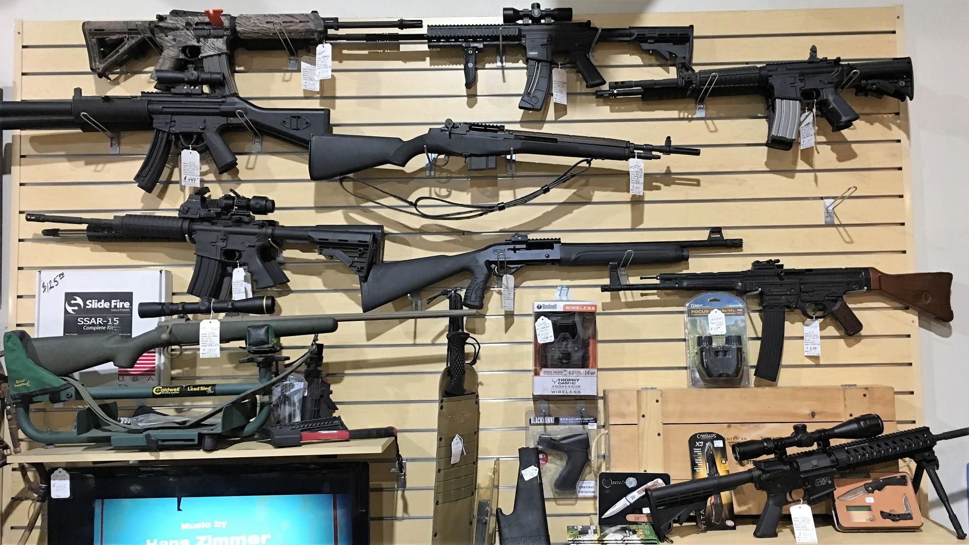Gun Wall