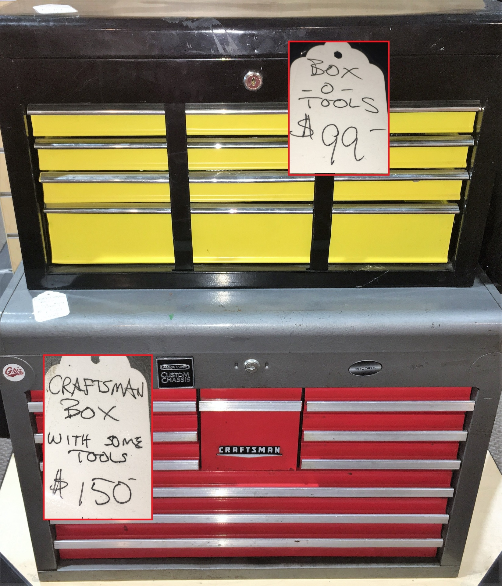 Smaller tool boxes