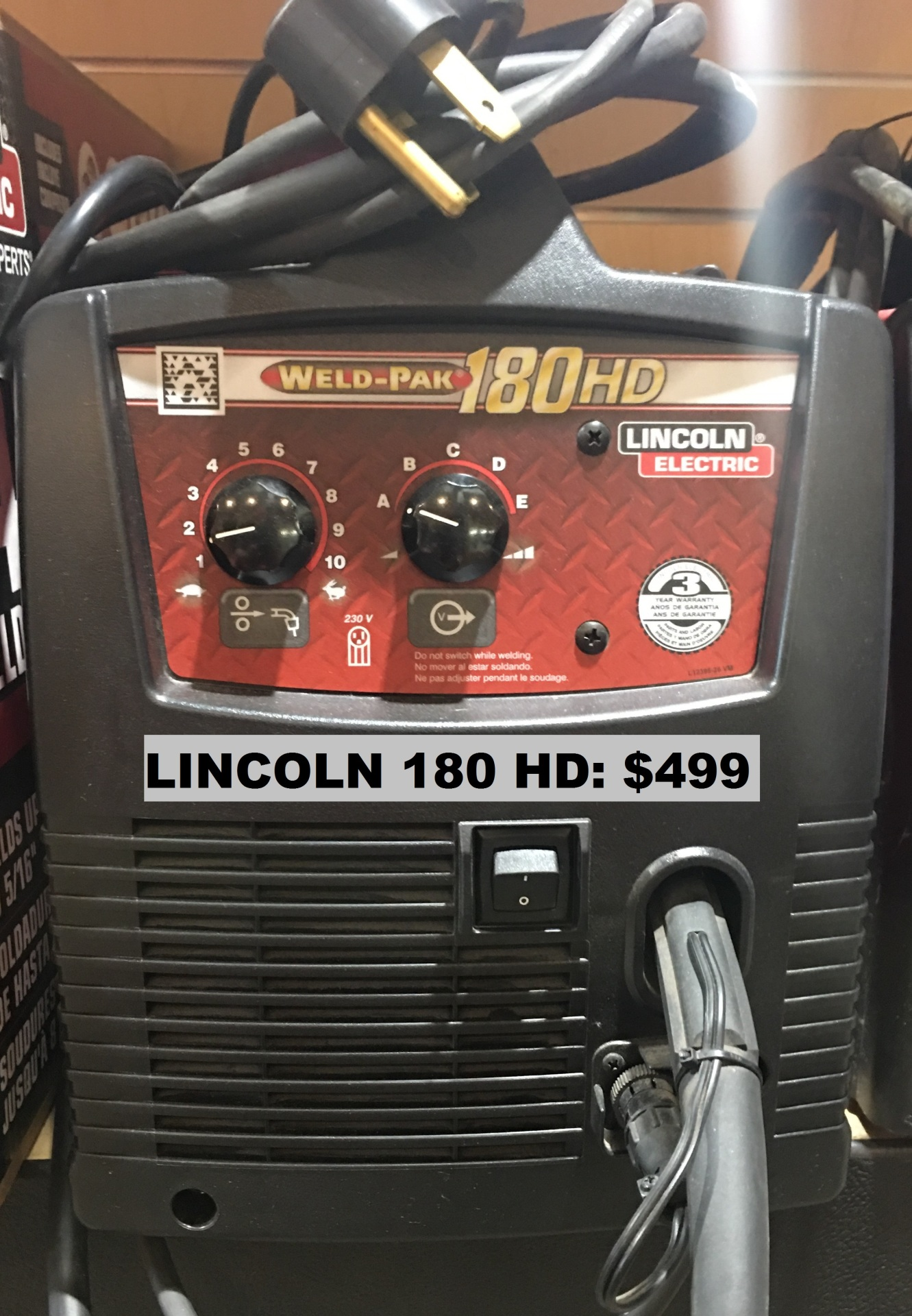 Bigger Lincoln welder