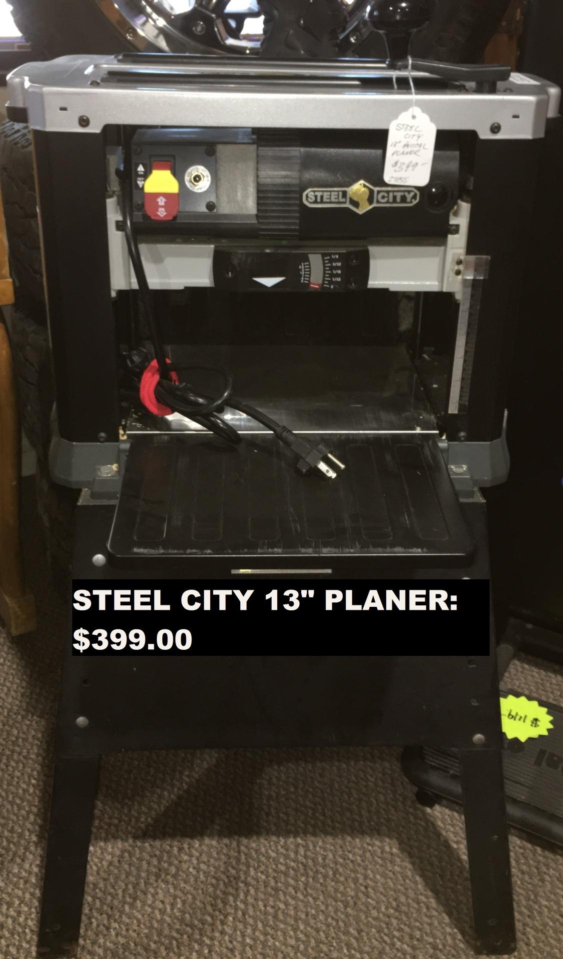 Steel City Planer