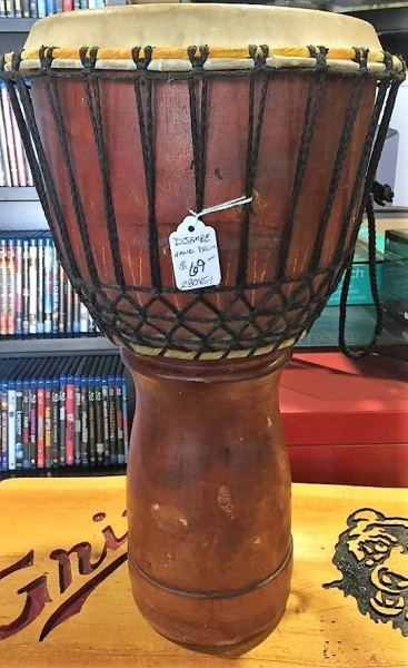 EVEN A BONGO DRUM THINGY
