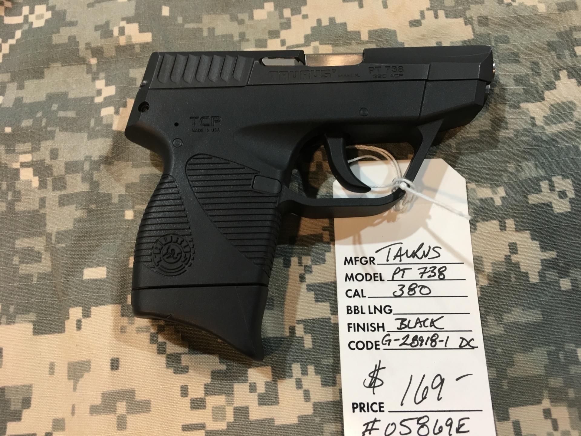 Taurus PT738