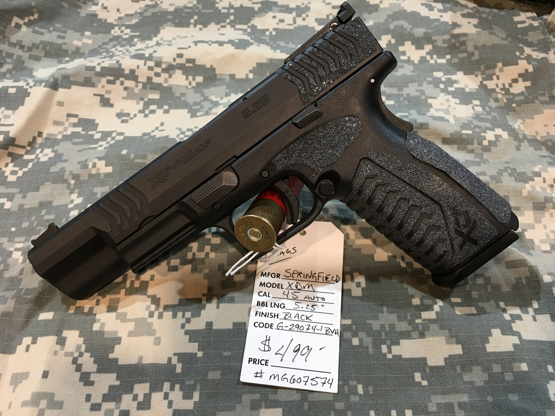 Springfield XDM .45 Competition Series