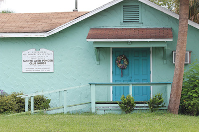 Fannye Ponder NCNW Metropolitan Council House Prior to Renovations
